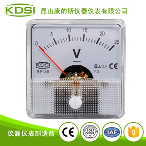 指針式直流電壓表 BP-38 DC25V 小型電壓表頭