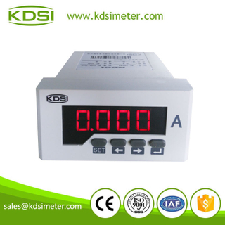 單相數顯電流表 BE-96*48 AC300/5A 電流變比可編程