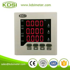 BE80AC200/5A三相交流電流表 電流變比可編程 數字顯示儀表