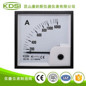 指针式交流电流表 BE-96 AC1000-5A 6倍