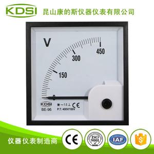 指针整流式电压表BE-96 AC450V 400-100V