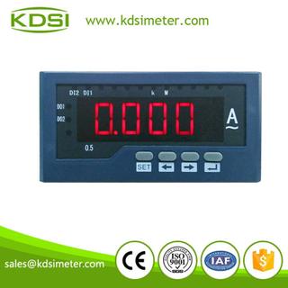 BE-120*60 AA50A 數字式單相交流電流表 數顯儀表