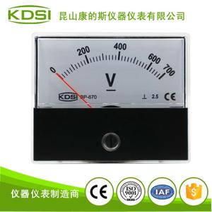 指针式直流电压表BP-670 DC700V