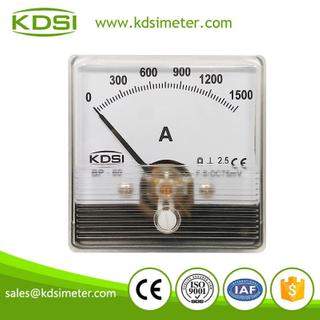 電焊機用直流電流表 BP-60N DC75mV 1500A 可做環保材質