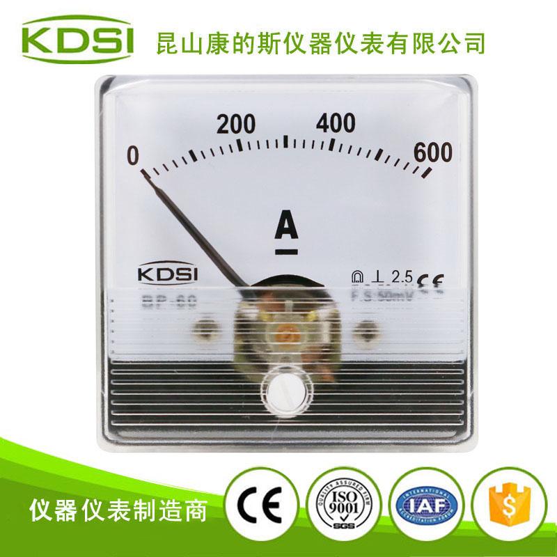 指针式电焊机电流表BP-60N DC600A