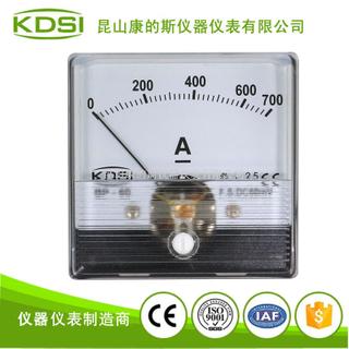 指針式直流電流毫安表 BP-60N DC700A接分流器
