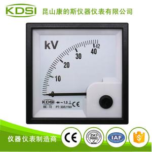 整流式指針電壓測量儀表BE-72 AC42KV 33/0.11KV