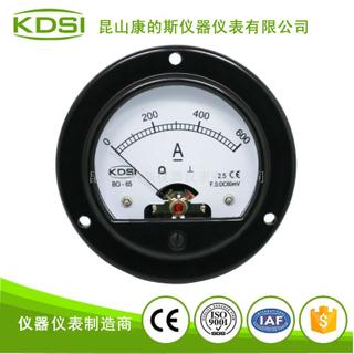 指針式圓形直流電流表BO-65 DC60mV 600A