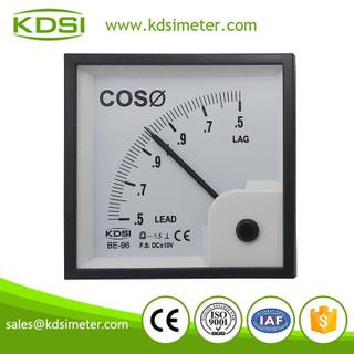 指針式功率因數表 BE-96 DC+-10V COS