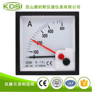 雙指針顯示交流電流表BE-80 AC400/5A