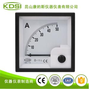 指針式直流電流表BE-72 DC50A