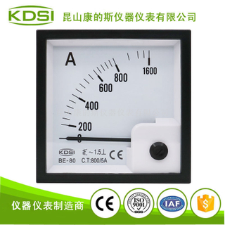 指針式交流電流表 BE-80 AC800/5A