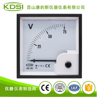 指針式交流電壓表BE-96 AC75V整流式