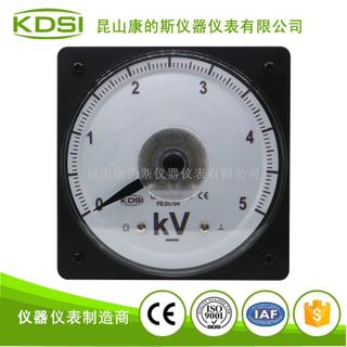 指針式圓形電壓表LS-110 DC10V 5kV