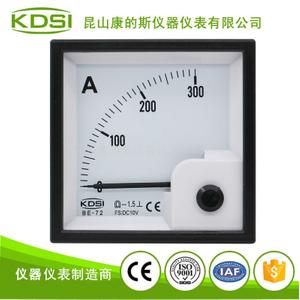 電流測量電工指針電表BE-72 DC10V 300A