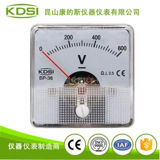 指針式直流電壓伏特表BP-38 DC600V