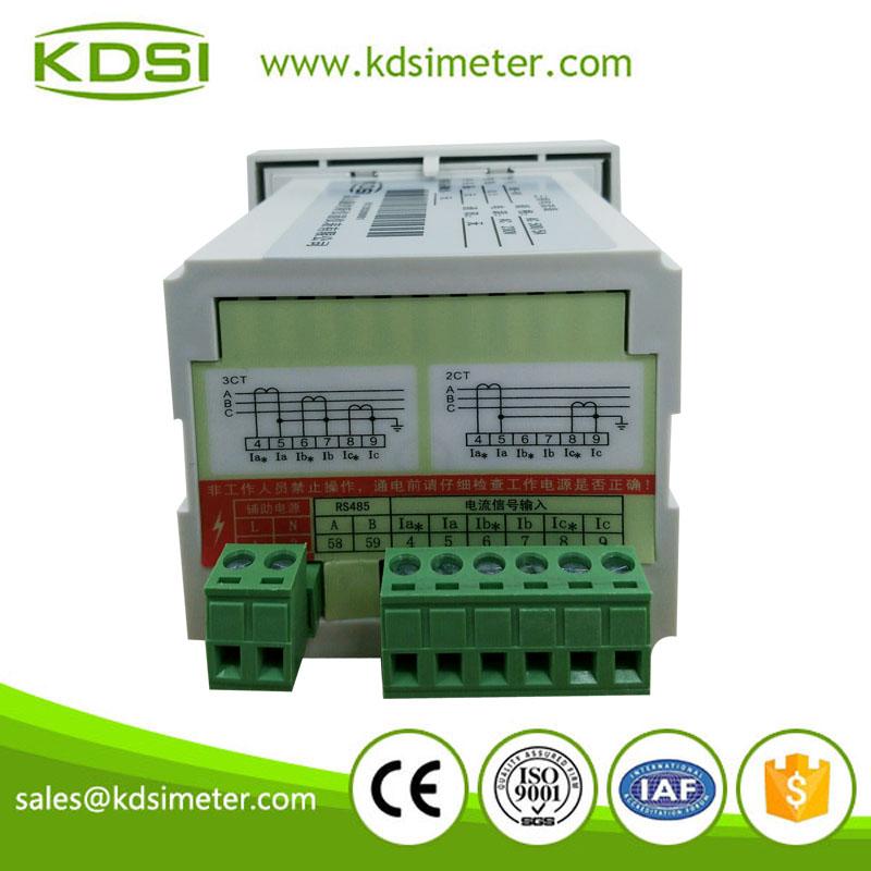 BE-80三相交流數顯電流表 電流變比可編程